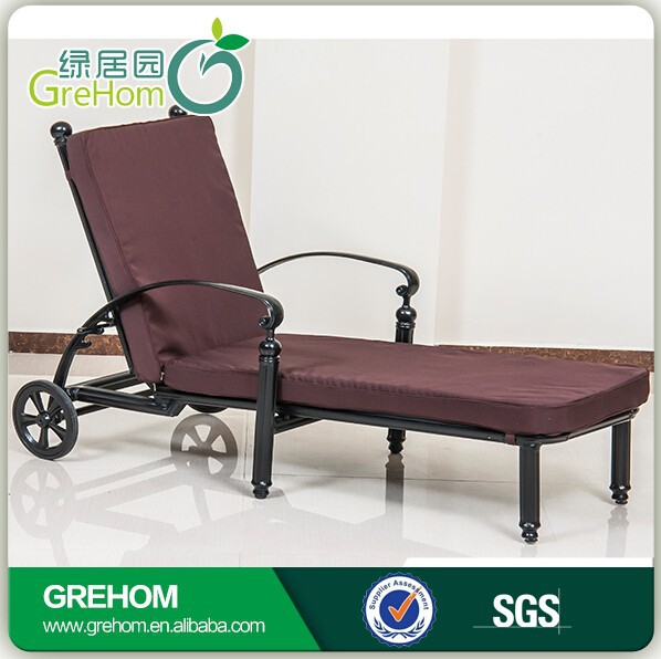 Outdoor Furniture Folding Reclining Beach Chair With Wheels Buy Beach Chair
