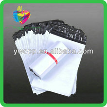 Yiwu self adhesive white ldpe plastic apparel shipping bags