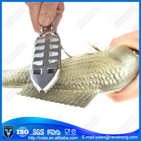 Stainless steel fishing knife/ fish scale knife /fishing scraper