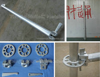 offer all size steel ringlock support ledger scaffolding support