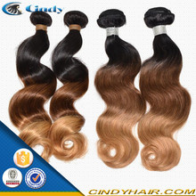 cheap human hair ombre unprocessed virgin malaysian hair weft remy human hair weaves wholesale distributors