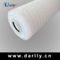 Hot selling micron cartridge micro filter water treatment system for filtration