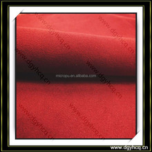 nonwoven back suede microfiber leather for jewelry tray