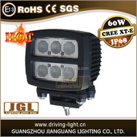 led cree driving lights 9-80v led working light car guangzhou led car light for heavy duty truck tractor led work lamp 60w