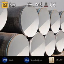 pe coated steel pipe with anti corrosion paint
