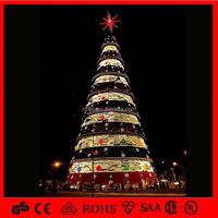 Decorative Plastic Tree Artificial 90cm Topiary Cedar Spiral Christmas Tree with Conifer