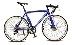 wholesale road bikes/mountain bike without suspension light blue