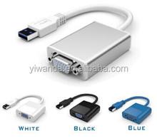 Shenzhen best usb 3.0 to VGA adapter