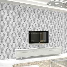 Levinger good quality decorative non-woven foaming removable wallpaper kitchen borders
