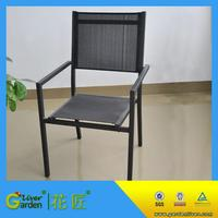 outdoor sling stacking chair sling back chairs aluminum sling beauty chair