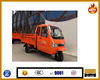 Motocarro gasoline closed cabin cargo tricycle motocicleta de tres ruedas