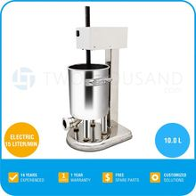 2014 Great Quality Sausage Stuffer Filler, 10L, 15 L/Min, Stainless Steel Body, TT-F83-E, Electric Sausage Filler