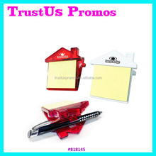 Hot Sales plastic magnetic clip at best price/promotional House Clip With Sticky Notes/Wholesale Sticky Note Clip with advertise