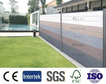 2015 Hot sale wood plastic composite wpc fence /outdoor fence /decorate wall board
