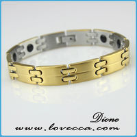 stainless steel bike chain bracelet,logo chain stainless steel bracelet,health magnetic bracelet