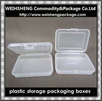 2015 factory super clear portrable playing card plastic cases/storage box/packaging box