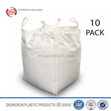 U- panel jumbo bag with filling spout, PP big bag for 1000kg 1500kg ZHONGRUN CONTAINERS