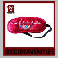 Fashion top sell factory made novelty sleep eye mask