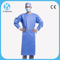 Hospital non woven sterile disposable surgical gown