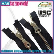 metal zipper pullers zipper sliders varies designs kinds of colors with jacket zipper