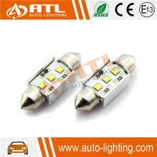 Hot sale White 9W(3*3W) led cob , 12V led cob 31mm, CANBUS led cob dome light