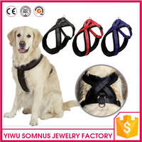 thicken woolen fabric Training Dogs Sports leather straps for dog leash double deck Nylon fabric pet dog accessories A051