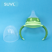 Non-toxic lovely color baby bottle cap and handle universal bottle cap manufacturers