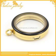 2015 Simple Design Magnetic Enamel Locket for Women