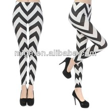 Black and white sexy twill leggings girls pics LG7004