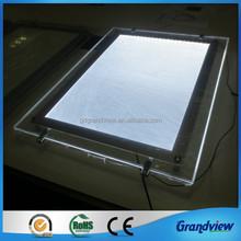 led advertising edge lighting display panel