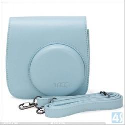 Cute PU leather detachable portable leather bag case For fujifilm instax mini 8---P-OTHMINI8PUCA001