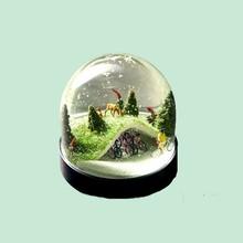 Unique Interioi Decoration Pottery Christmas snowball