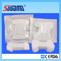 High quality surgical disposable cotton zigzag sterile gauze tampon