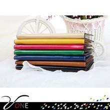 Pure Color Long Pattern PU Women Purse Thin Wallet