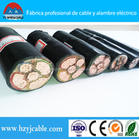 Copper XLPE Armoured power cable 0.6/1KV 4x2.5mm 4x4mm 4x6mm 4x10mm 4x16mm 4x25mm