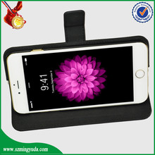 black classic color factory price for iphone 6 plus radiation protecting flip case