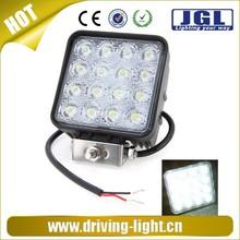Motorcycles led headlight 10-30v off road led work light 48w led driving light off road