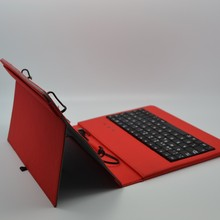Durable tablet case wired multimedia keyboard