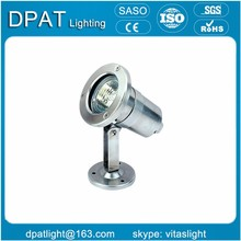 6w stable shell stainless steel led pool light
