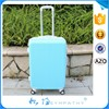 4 wheels trolley ABS+PC luggage travel bags suitcase china manufacturer