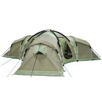 OEM big tent living tent 3 room camping tent 10 man to 12 man