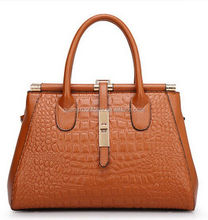 Top quality leather handbag women brand bags