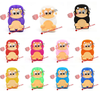 Cute 3D Monkey Silicone Shell for BlackBerry Curve 9320/9220