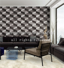 2015 new 3D design wallpaper three dimensional wall paper modern stone wall paper