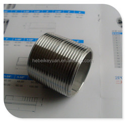 "1/2"" NPT close nipple ftg 304ss"