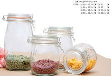 airtight glass food storage containers