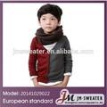 Éxito en ventas, moda de Otoño 2014, jerseys para niños, chaqueta de punto en algodón, ropa para chicos