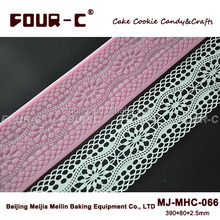 Newest sugarcraft lace mat,cake decor lace mould,silicone sugar art tools