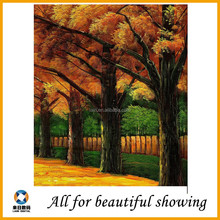natural beautiful scenery oil painting on canvas, handmade oil painting, poster media oil painting canvas,