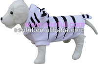 Tiger lookJacket Dog Apparel Pet Party Clothes